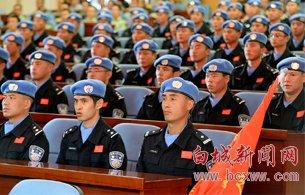 """""""中国蓝盔""""出征维和一线"""