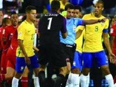 巴西爆冷出局
