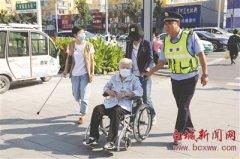 文明交通 警民携手 志愿之花 开满街头