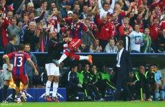 欧冠-格策献助攻德国国脚90分钟绝杀 拜仁1-0曼城