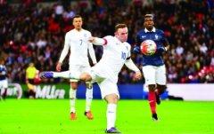 鲁尼51球比肩亨利 英格兰18年首胜法国