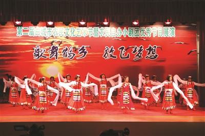 第二届农民自办小剧团优秀节目展演。