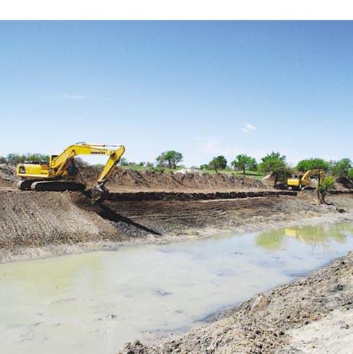 我市扎实推进河湖连通配套设施建设