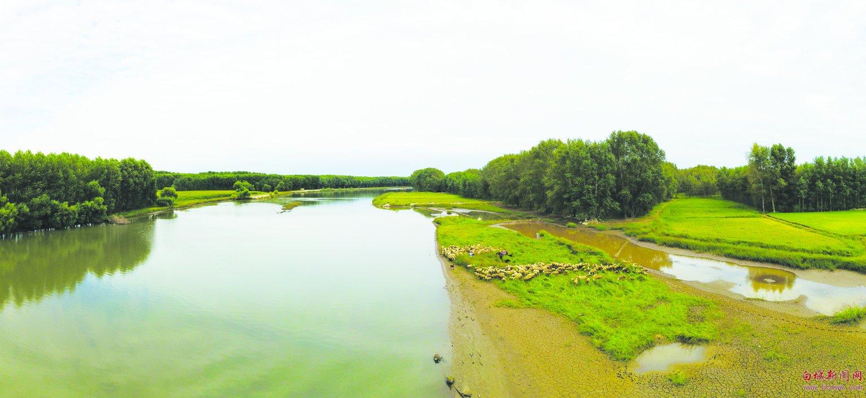水系白城 大美鹤乡 洮儿河