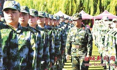 新生入学第一课——军训