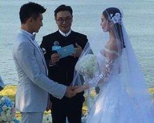 吴奇隆刘诗诗巴厘岛大婚 男方真情告白